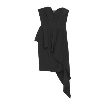 ミリー MILLY ミニワンピース&ドレス ブラック 0 ポリエステル 90% / ポリウレタン 10% ミニワンピース&ドレス