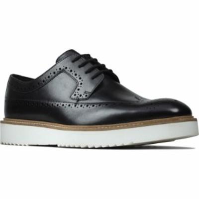 クラークス CLARKS メンズ 革靴・ビジネスシューズ ウイングチップ シューズ・靴 Ernest Limit Wingtip Black Leather