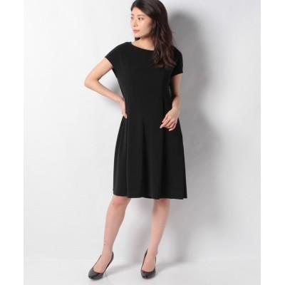 【ミス ジェイ】 ペオススムース ドレス レディース ブラック 40 MISS J