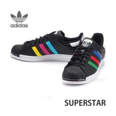 アディダス オリジナルス スーパースター adidas originals SUPERSTAR スニーカー メンズ カラー:コアブラック/グリーン/ホワイト