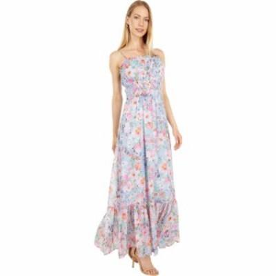 ロストアンドワンダー LOST + WANDER レディース ワンピース マキシ丈 ワンピース・ドレス Monets Garden Maxi Dress Blue Vintage Flora
