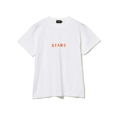 (BEAMS MEN/ビームス メン)BEAMS / ロゴ Tシャツ 21SS/メンズ WHITE