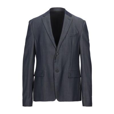 プラダ PRADA テーラードジャケット ブルー 50 バージンウール 100% テーラードジャケット