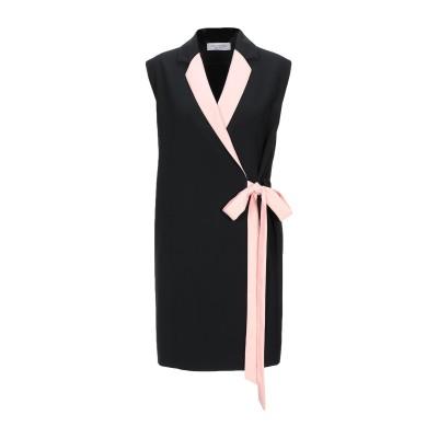 ANNA RACHELE ミニワンピース&ドレス ブラック 44 ポリエステル 95% / ポリウレタン 5% ミニワンピース&ドレス