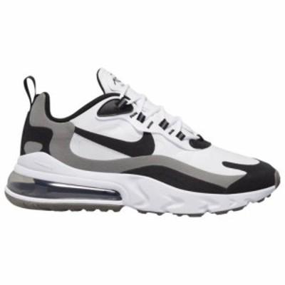 (取寄)ナイキ メンズ シューズ エア マックス 270 リアクト Nike Men's Shoes Air Max 270 ReactWhite Black Metallic Pewter 送料無料