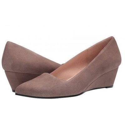 French Sole フレンチソール レディース 女性用 シューズ 靴 ヒール Clap - Mushroom Suede