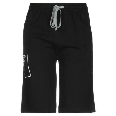 SAGE HOLLYWOOD ショートパンツ&バミューダパンツ ファッション  メンズファッション  ボトムス、パンツ  ショート、ハーフパンツ ブラック