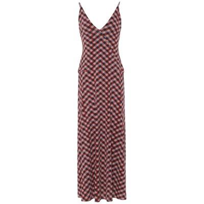 SIYU ロングワンピース&ドレス パープル 38 ナイロン 72% / ポリウレタン 28% ロングワンピース&ドレス