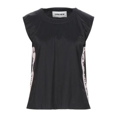 ファイブプレビュー 5PREVIEW T シャツ ブラック M ポリエステル 100% T シャツ