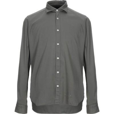 ティントリア マッティ TINTORIA MATTEI 954 メンズ シャツ トップス solid color shirt Military green