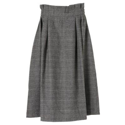 ・Iラインフレアースカート