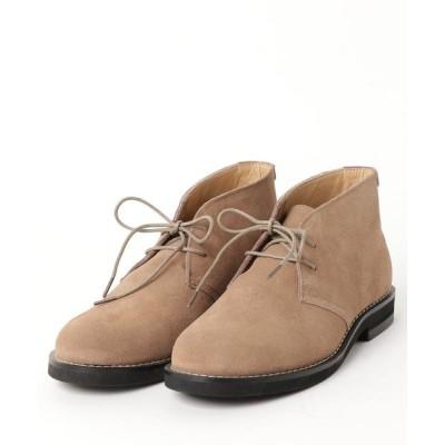 ZealMarket/SFW / [本革使用]クラシカルなデザインで様々なスタイルに取り入れやすいチャッカーブーツ MEN シューズ > ブーツ