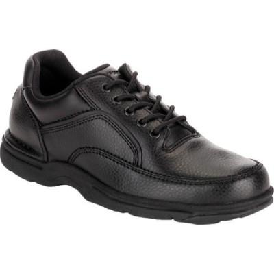ロックポート Rockport メンズ シューズ・靴 World Tour Eureka Black Full Grain Leather