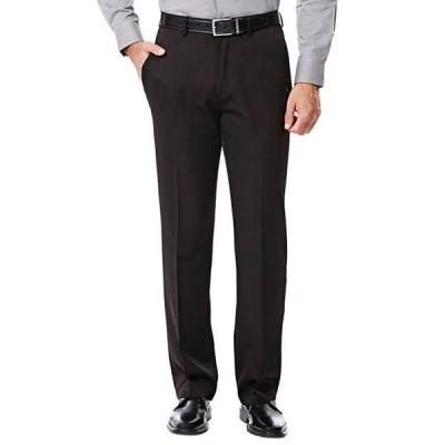 ハガー メンズ カジュアルパンツ ボトムス Big & Tall Travel Performance Classic Fit Solid Gabardine Suit Pants