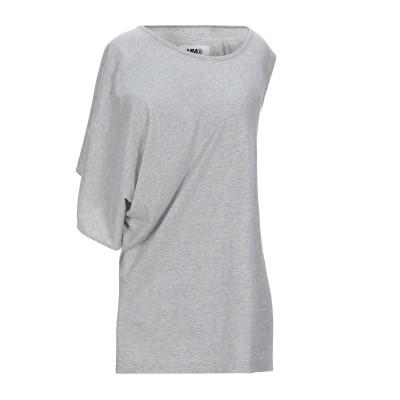 MM6 メゾン マルジェラ MM6 MAISON MARGIELA T シャツ グレー XS コットン 100% T シャツ