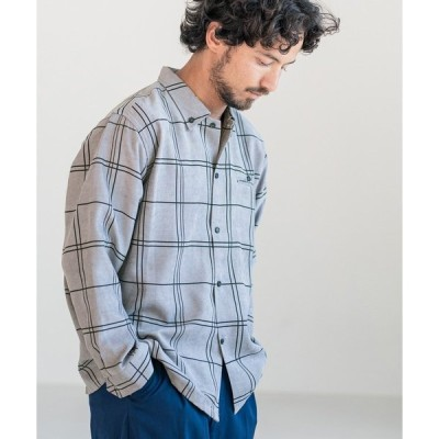 シャツ ブラウス ms4364-ブロックチェックシャツ