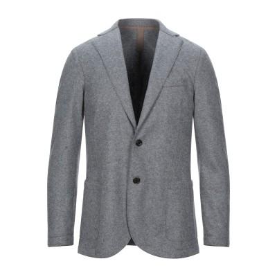 イレブンティ ELEVENTY テーラードジャケット グレー 46 ウール 80% / ナイロン 20% テーラードジャケット