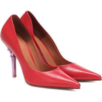 ヴェトモン Vetements レディース パンプス シューズ・靴 leather pumps Red
