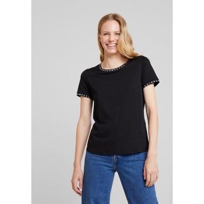 アンナフィールド Tシャツ レディース トップス Print T-shirt - black