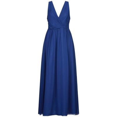 HOPE COLLECTION ロングワンピース&ドレス ブルー L ポリエステル 100% ロングワンピース&ドレス