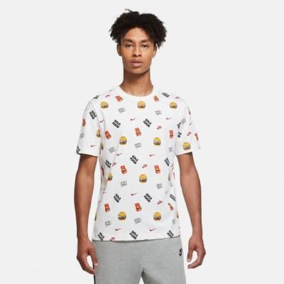 ナイキ Tシャツ メンズ 上 NIKE ハンバーガー SOLEFOOD 半袖 DC9183 WHT 送料無料 アウトレット SALE セール