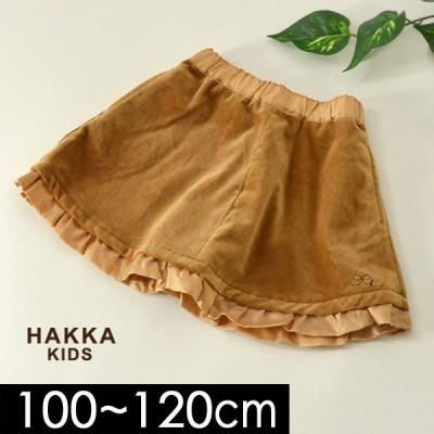 メール便可 ハッカキッズ 02170284-12M ベロアスカート[100-120] キッズ ボトム ボトムス スカート Aライン フリル かわいい 女の子 子供服 HAKKA KIDS 4019997