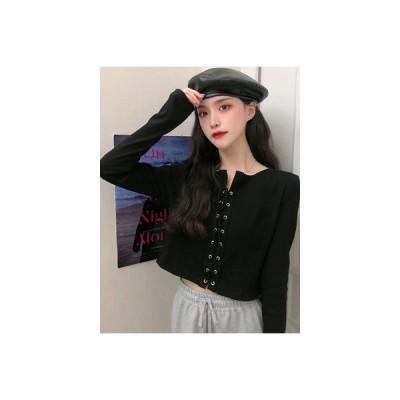 【送料無料】秋 韓国風 デザイン 感 ショートシャツ 着やせ 着やせ 何でも似合う | 364331_A63719-3632234