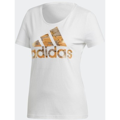セール価格 アディダス公式 ウェア トップス adidas エッセンシャルズ フォイル バッジ オブ スポーツ Tシャツ [ESSENTIALS]