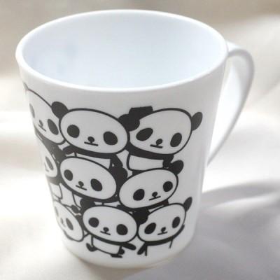 パンダ プラ製マグカップ 【JMZ018-D】