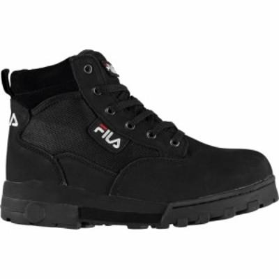 フィラ Fila メンズ ブーツ シューズ・靴 Grunge Low Boots Black