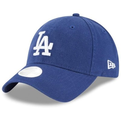 レディース スポーツリーグ メジャーリーグ Los Angeles Dodgers New Era Women's Logo Core Classic Twill Team Color 9TWENTY Adjustable