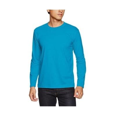 (ユナイテッドアスレ)UnitedAthle 5.6オンス ロングスリーブ Tシャツ 501001 [メンズ] (ターコイズブルー XL)