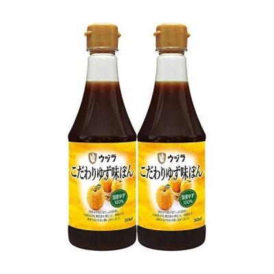 大興産業 ウヅラ酢 こだわりゆず味ポン 360ml ×2本
