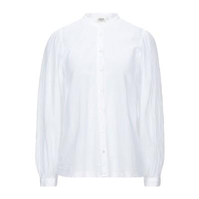 HARTFORD シャツ ホワイト 1 コットン 100% シャツ