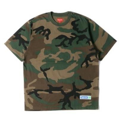 Supreme シュプリーム Tシャツ アスレチックラベル ヘビー Tシャツ Athletic Label S/S Top 18SS ウッドランドカモ M 【メンズ】【中古】