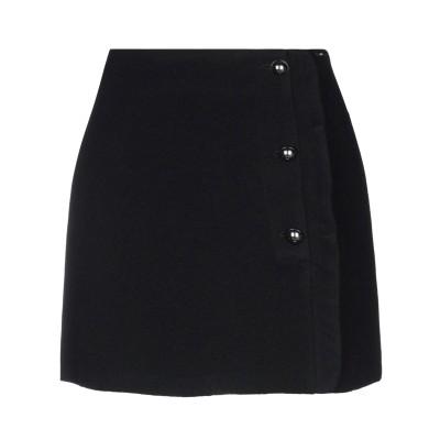リュー ジョー LIU •JO ミニスカート ブラック 44 アクリル 40% / ウール 40% / ポリエステル 20% ミニスカート