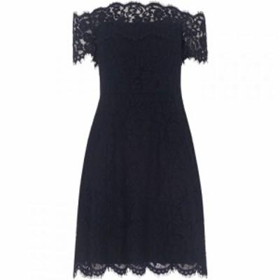 ホイッスルズ Whistles レディース ワンピース ワンピース・ドレス Off Shoulder Lace Dress Navy