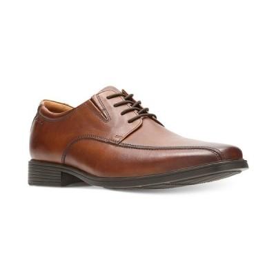 クラークス オックスフォード シューズ メンズ Men's Tilden Walk Oxford Dark Tan Leather