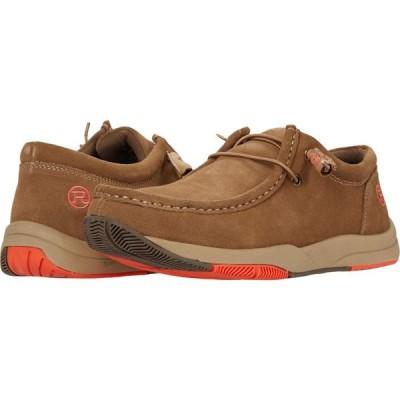 ローパー Roper メンズ シューズ・靴 Clearcut Low Tan Suede Leather
