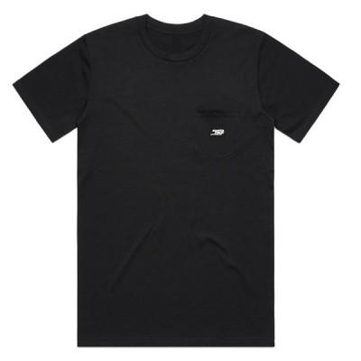 サンタクルーズ Tシャツ メンズ トップス Santa cruz Patch Pocket Black