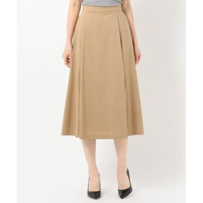 J.PRESS/ジェイプレス 【洗える】コットンナイロンシルキーローン スカート キャメル系 9