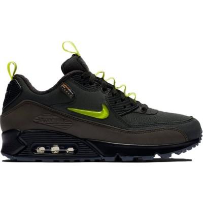"""ナイキ メンズ Nike Air Max 90 """"The Basement Manchester"""" スニーカー BLACK/GREEN-GREY エアマックス90"""