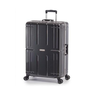 【カバンのセレクション】 アジアラゲージ アリマックス2 スーツケース Lサイズ 92L フレーム 大容量 ALI−011R−28 ユニセックス ブラック フリー Bag&Luggage SELECTION
