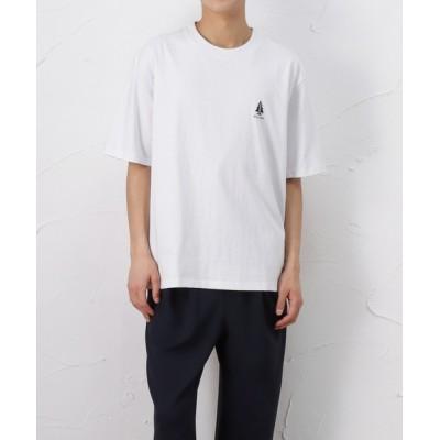 tシャツ Tシャツ ローププリント 半袖Tシャツ