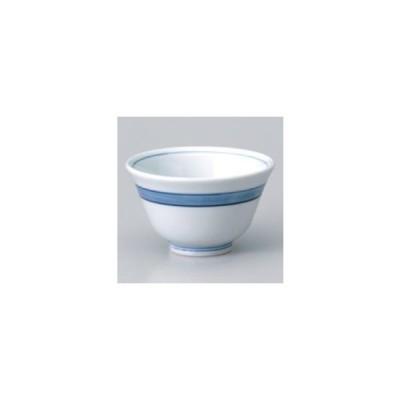 和食器 / 千茶 ブルーライン反千茶 寸法:9.5 x 5.5cm 強化