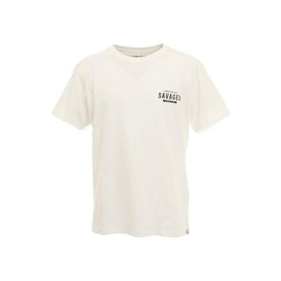 ロアークリバイバル(ROARK REVIVAL) SAVAGES 半袖Tシャツ RTJD521-WHT (メンズ)