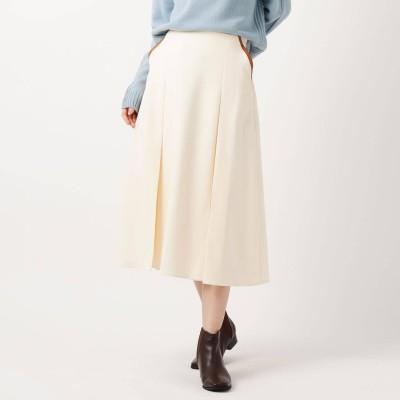 ザ ショップ ティーケー  ウィメンズ THE SHOP TK(Women) 配色パイピングスカート (オフホワイト)