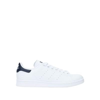 ADIDAS ORIGINALS スニーカー&テニスシューズ(ローカット) ホワイト 4.5 紡績繊維 スニーカー&テニスシューズ(ローカット)