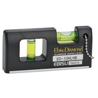 磁石付ハンディーレベルー2 ブラック エビスダイヤモンド ED10HLMB-1377