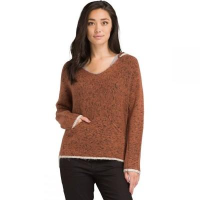 プラーナ Prana レディース ニット・セーター トップス Shine On Sweater Chai Heather